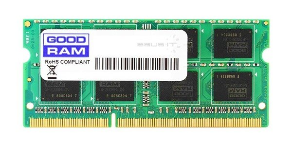 Memory RAM 1x 4GB GoodRAM SO-DIMM DDR2 667MHz PC2-5300 | GR667S264L5/4G